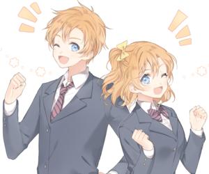 anime, love live, and kousaka honoka image