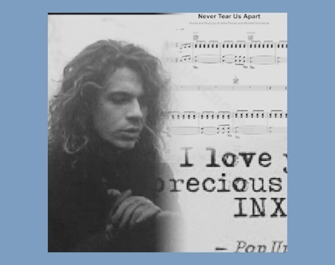 article, INXS, and michael image