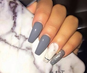 nails and grey image