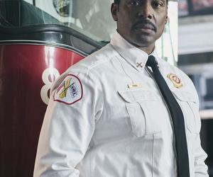chicago fire, wallace boden, and eamonn walker image