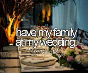 before i die, wedding, and family image