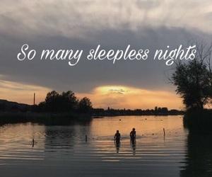 life, trash, and sleepless nights image