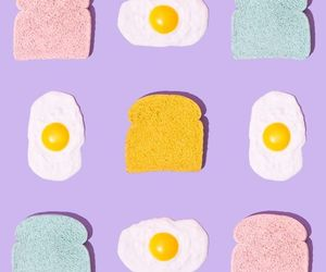 colors, egg, and pastel image