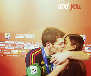 kiss, spain, and iker casillas image
