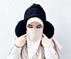 girls, hijab, and muslim image