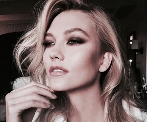 model, Karlie Kloss, and beauty image