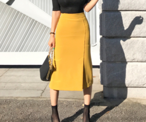 kfashion, long skirt, and top image