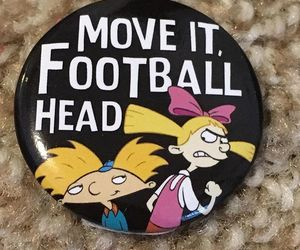 cartoons, nickelodeon, and hey arnold image