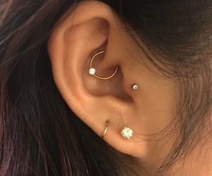 piercing image