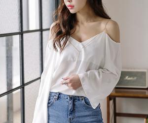 fashion, asian fashion, and blouse image