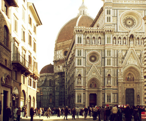 florence, italy, and travel image