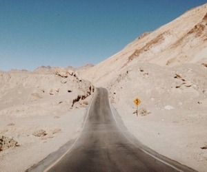 indie, road, and desert image