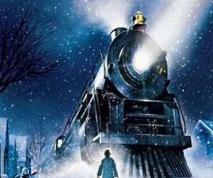 movie and the polar express image