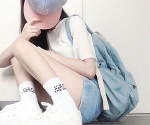 aesthetic, asian fashion, and korean fashion image