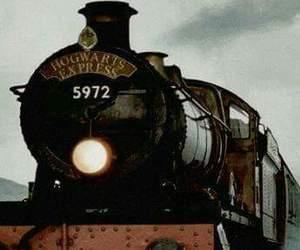 hogwarts, potter, and expresso image