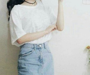 fashion, korean, and cute image