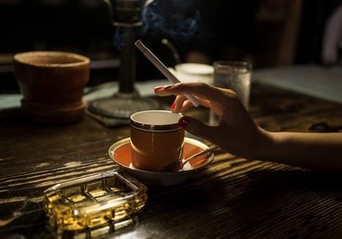 cigarette, coffee, and espresso image