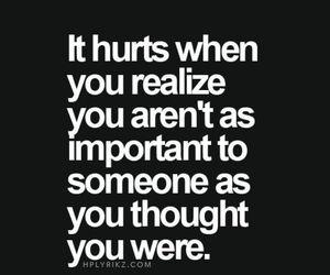quotes, hurt, and sad image