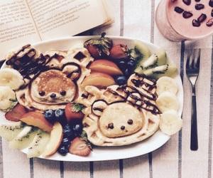 breakfast, food, and kawaii image