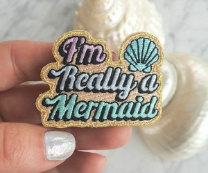 patch and mermaid image