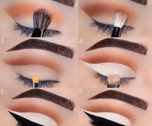 beauty, blending, and make up image