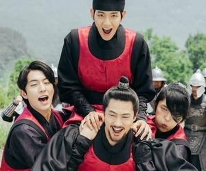 baekhyun, exo, and kdrama image