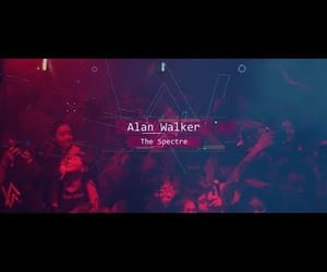 music, video, and alan walker image