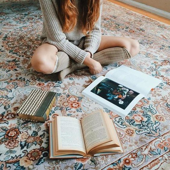 books, comfy, and read image