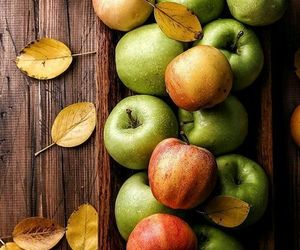 autumn, apples, and fall image