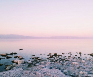 beach, nature, and water image