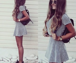 style, dress, and girl image