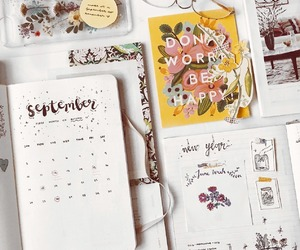 organisation, planner, and studying image