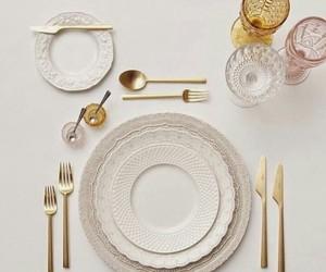 cocina, elegante, and cubiertos image