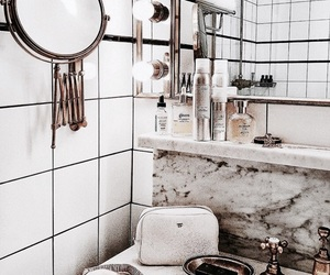 bathroom, love, and interior design image