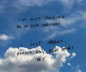 quotes, sky, and feelings image