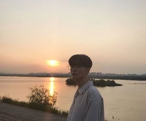 sunset and ulzzang image