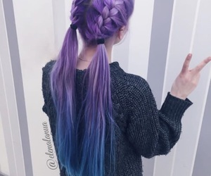 hair, girl, and cute image