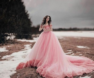 pink, princess, and romantic image