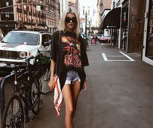 fashion, girl, and streetstyle image