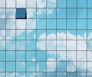 background, blue skies, and sunny day image