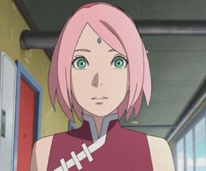 anime, uchiha sakura, and boruto the movie image