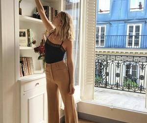 elegant, minimalism, and outfit image