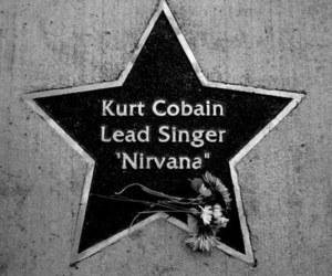 die, kurt cobain, and star image