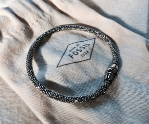 beautiful, bracelet, and fossil image