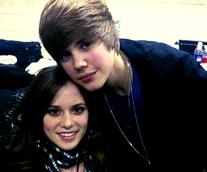 justin bieber and caitlin beadles image
