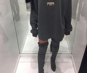 fashion, style, and yeezus image
