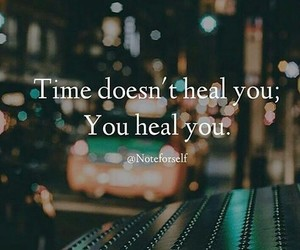 healing, quote, and time image