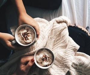 coffee, cozy, and winter image