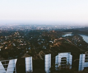 hollywood, city, and california image
