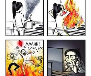comic, art, and funny image
